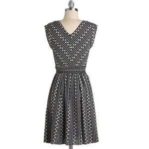 MODCLOTH Daisy Chain of Events Dress